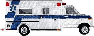 Ambulance Iron-On Patch Embroidered Rescue EMT Paramedic Souvenir Applique