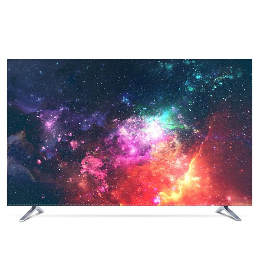 YXZN Cubierta Antipolvo para TV Protector Solar Impermeable Colgar la Cubierta del televisor Pantalla de protección Universal Decoración del hogar,2,75: Amazon.es: Hogar