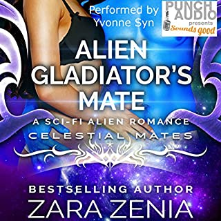 Alien Gladiator's Mate     A Sci-Fi Alien Romance, Celestial Mates              Auteur(s):                                                                                                                                 Zara Zenia                               Narrateur(s):                                                                                                                                 Yvonne Syn                      Durée: 4 h et 3 min     Pas de évaluations     Au global 0,0