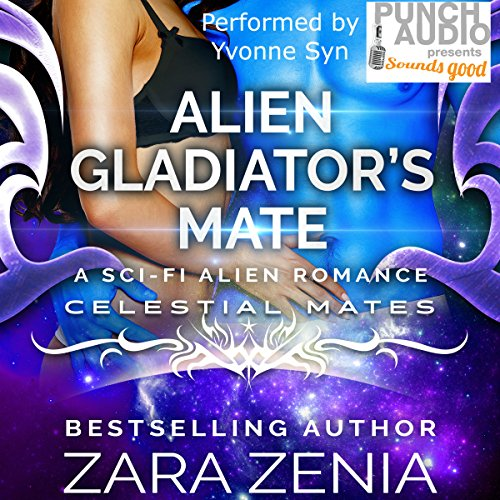 Alien Gladiator's Mate audiobook cover art