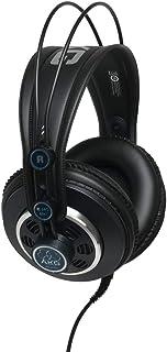 AKG K240 MKII - Auriculares de diadema semi-abiertos, color negro