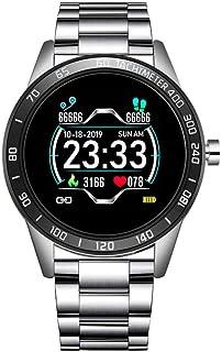 KYLN Reloj Inteligente Mujer Presión Arterial Monitor de frecuencia cardíaca Rastreador de Ejercicios Deporte Multifuncional Smartwatch Recordatorio de Despertador