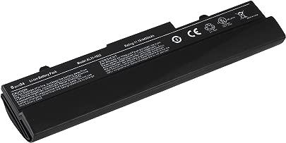 Mitsuru  4400mAh Notebook Laptop Akku Batterie f r Asus Eee PC 1101 1101HA 1101HGO 1101HA-MU1X 1101HA-MU1X-BK 105VWTC 1001 1001HA 1001P 1001PQ 1001PQD 1101HA-M R101 R101-WHI001S 1001PX 1001PX-BLK3X 1001PX-BLK003X 1001PX-WHI0065 1001PX-WHI002X ersetzt Asus