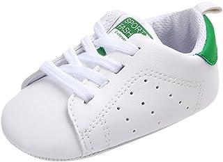 WINJIN Chaussures Baskets bébé garçon et Bébé Filles Chaussures Premiers Pas Mixte Enfants Baskets Mode Sneakers Basses bé...