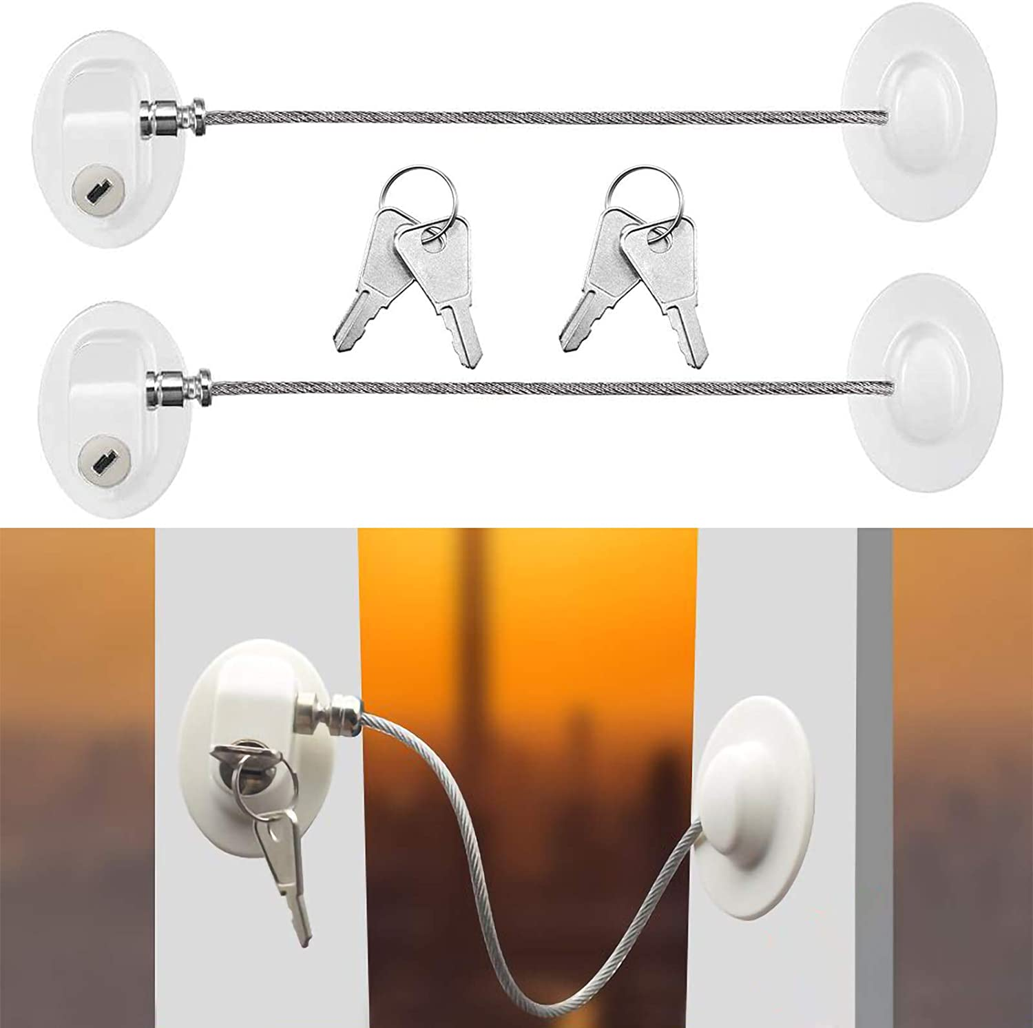 Cyleibe Window Door Restrictor Security Baby Challenge the lowest price of Japan Child Safety Lock Max 69% OFF