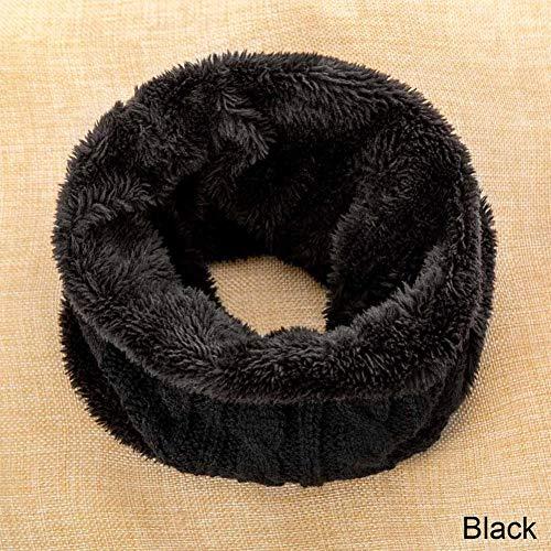 TLXOZ breien sjaals kinderen herfst en winter ronde ring sjaal jongens meisjes outdoor warm katoen hals sjaal kinderen