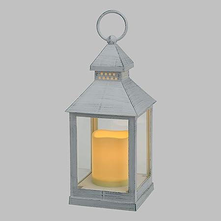Xmasking Lanterna A Batteria H 24 Cm Led Bianco Caldo Effetto Fiamma Lanterna Decorativa Lanterna Led Luci Di Natale Xmasking Amazon It Casa E Cucina