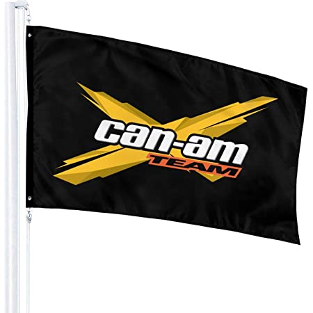 maichengxuan Can Am Team Flag Outdoor Flags 100/% Single-Layer Polyester 3x5 Ft