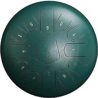 12 Inch Steel Tongue Drum 13 Notes Handpan Drum Percussion Instrument Hand disc Drum Performance Drum Suitable for Profess...