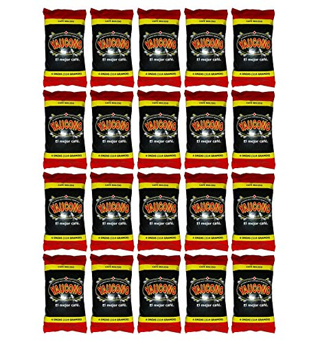 Yaucono Ground Coffee Fraction Packet, 4 Ounce (Pack of 20)