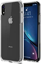 "iPhone XR Case, Trianium Clarium Case Compatible Apple iPhone XR (2018)[6.1"" ONLY] TPU Cushion Protection and Hybrid Rigid Clear Back Cover [ Work w/Most Screen Protector] - Clear"