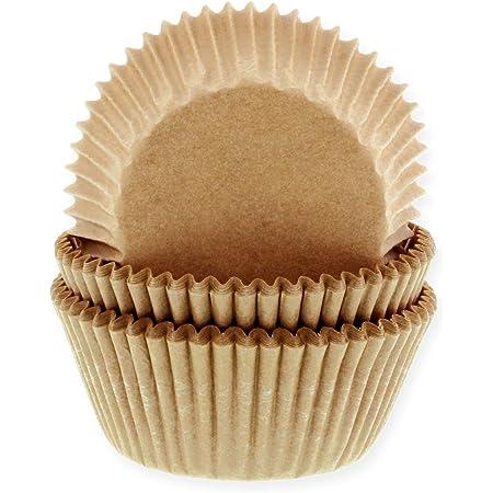 ungebleicht Natur House of Marie 60 Mini Muffinf/örmchen