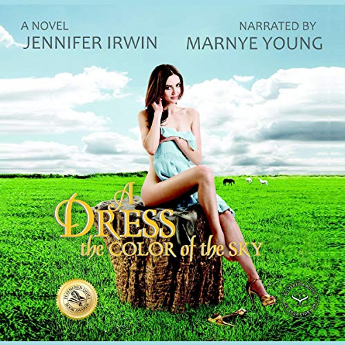 A Dress the Color of the Sky audiobook cover art