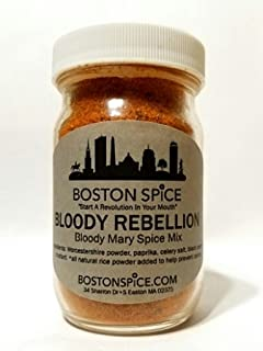 Boston Spice Bloody Rebellion HANDMADE Make The BEST Gourmet Bloody Mary's Cocktail Drink Beverage Seasoning Mix Spice Ble...