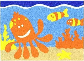 Sandtastik Preschool Craft Peel N Stick Sand Art Board #18 - Octopus and Friends