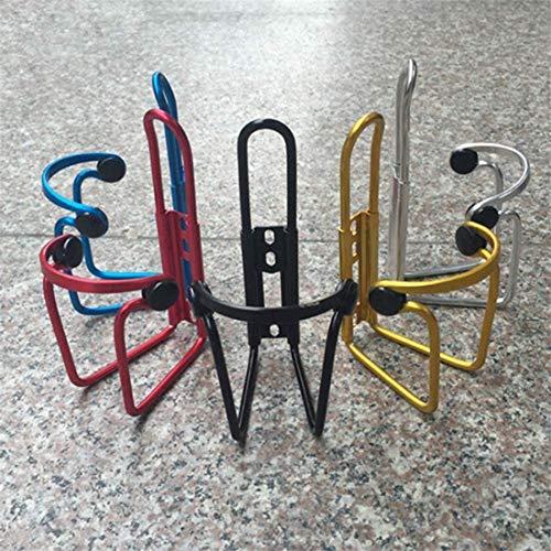 Alittle Jaulas para botellas de agua para bicicletas Rack Aleación de aluminio MTB ajustable Soporte para botellas de agua para bicicletas Accesorios para bicicletas