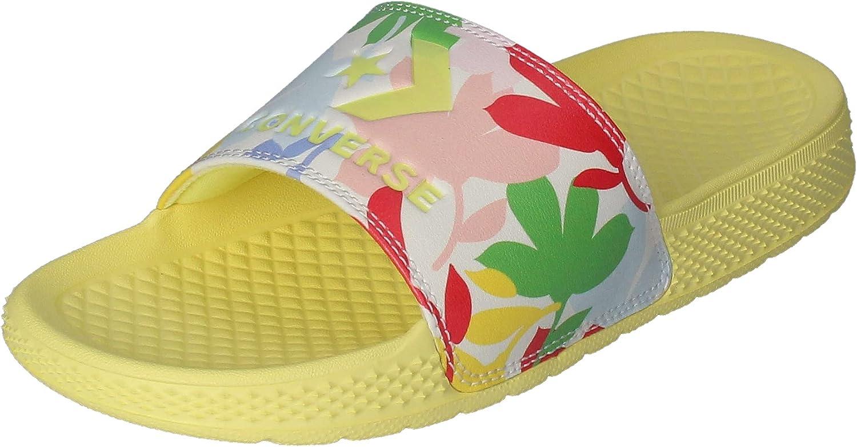 Converse All Star Slide Slip Women's Floral Slides Size 9