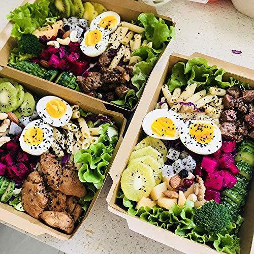 GYT Wegwerp Lunch Box Lunch Box Sushi Box Salade Doos Lunch Doos Afhaalkraft Papier Lunch Doos Verpakking Doos