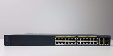 Cisco Catalyst 2960-24PC-L - Switch de Red (Gestionado, 8000 entradas, 32 Gbit/s, 0,1 Gbit/s, SNMP 1, RMON 1, RMON 2, RMON 3, RMON 9, Telnet, SNMP 3, SNMP 2c, HTTP, HTTPS, SSH-2, Ethernet) Gris