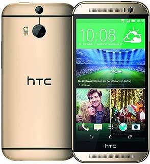 HTC One M8-32 GB, 4G LTE, Wi-Fi, Amber Gold