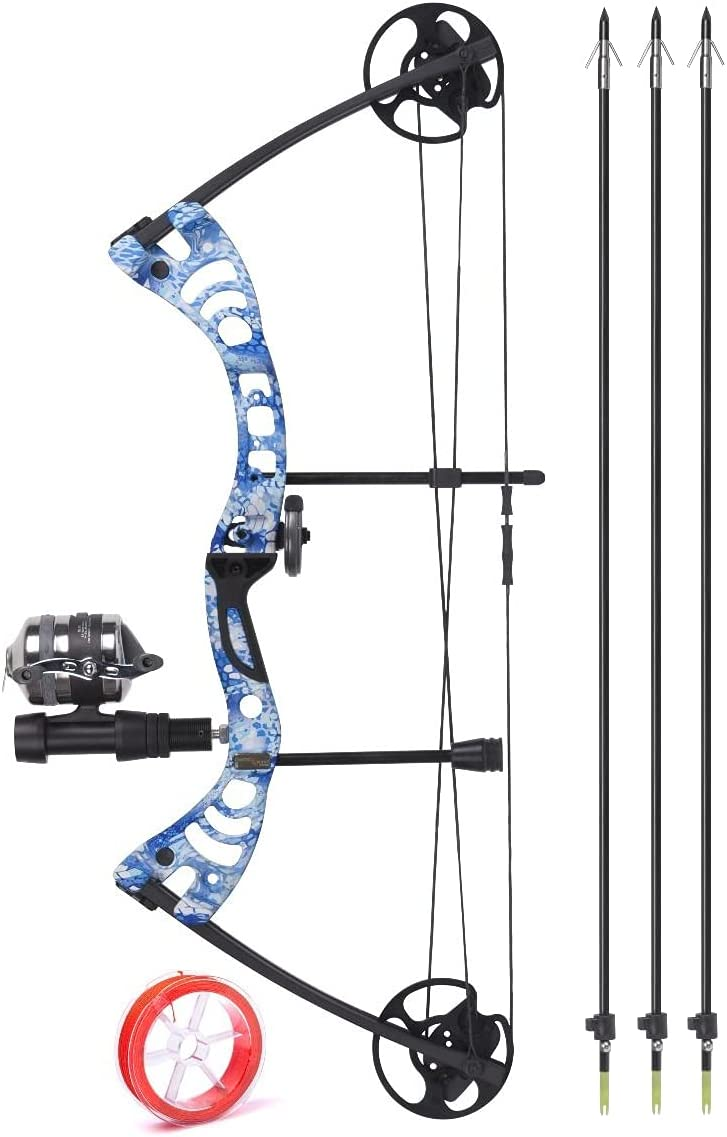 New Shipping Free CenterPoint Typhon Compound Bowfishing Bow + Kit Bombing free shipping