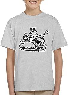 Comics Kingdom Krazy Kat Officer Bull Pupp Table Leaning Kid's T-Shirt