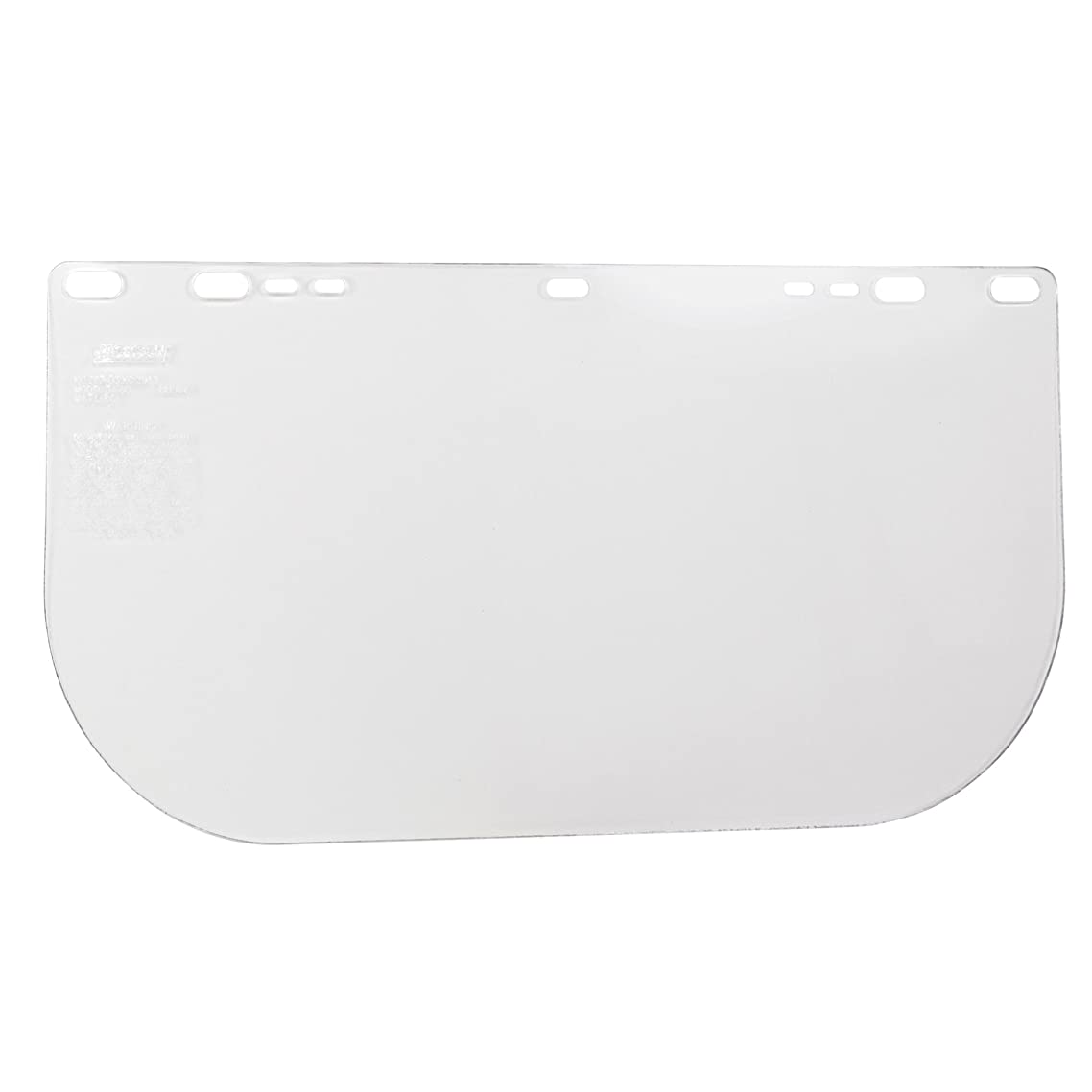 """Jackson Safety F20 High Impact Face Shield (29109), Polycarbonate, 8"""" x 15.5"""" x 0.06"""", Clear, Face Protection, Unbound, 12 Shields / Case"""