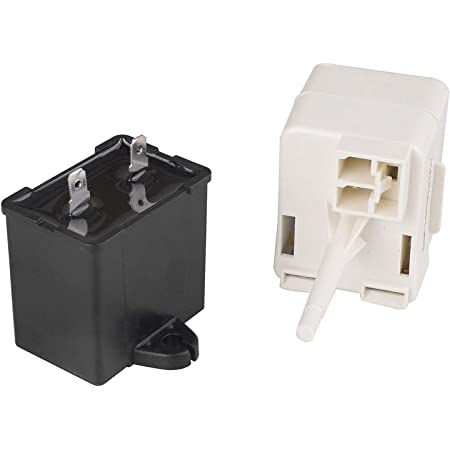 241707701 Refrigerator Compressor Start Relay Compatible with Electrolux 241707715 241707705 241707720