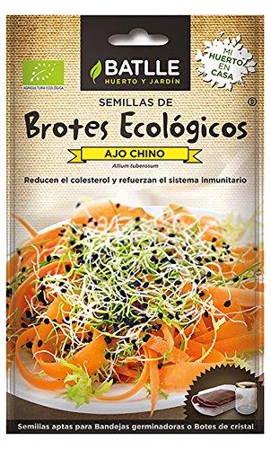 Semillas Ecológicas Brotes - Brotes ecológicos de Ajo chino - Batlle