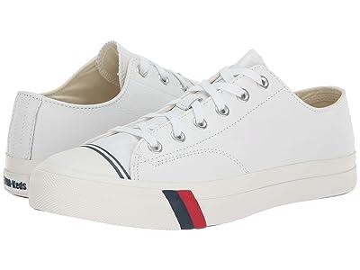 Keds Pro-Keds Royal Lo Core Leather (White Leather) Men