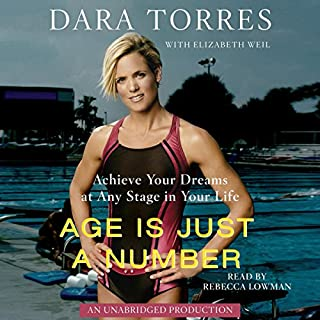 Age is Just a Number audiobook cover art