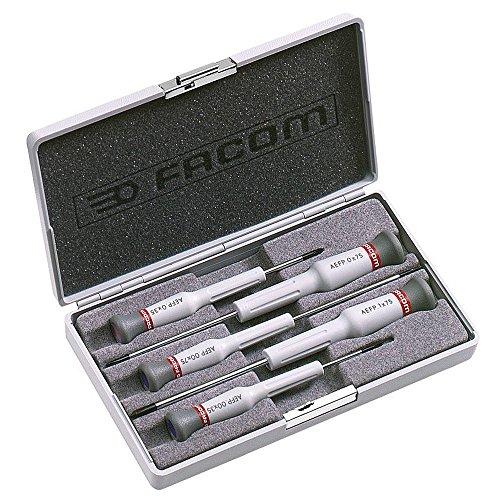 FACOM AEFP.J1 -Coffret de 5 Tournevis micro-tech phillips