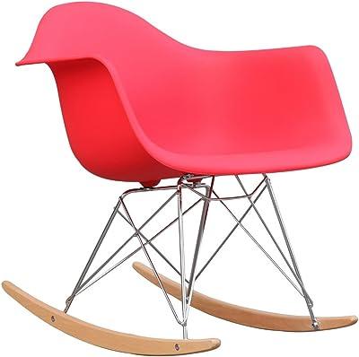 Amazon Com Baxton Studio Letterio White Cradle Chair