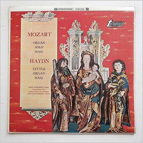 TV 34132S HANS HASELBOCK Mozart/Haydn Organ Mass LP