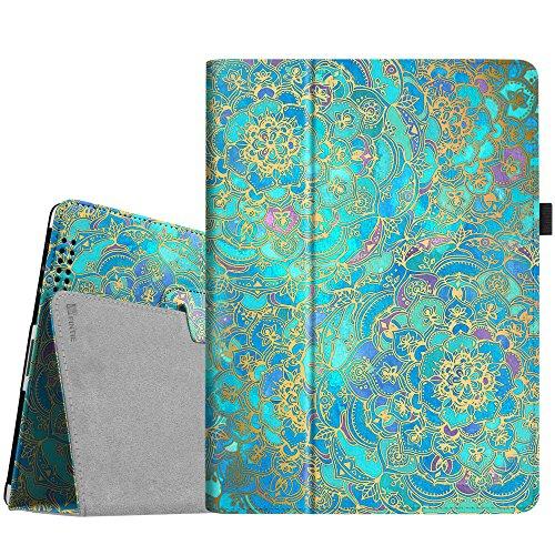 Fintie Hülle Case für iPad 2/3 / 4 - Folio Slim Fit Kunstleder Schutzhülle Cover Tasche Etui mit Auto Schlaf/Wach Funktion für Apple iPad 2 / iPad 3 / iPad 4, Jade
