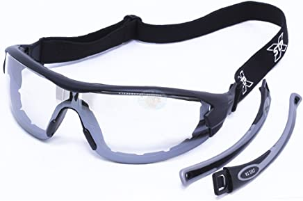 3fbdc85bd0b0d Óculos de Segurança Militar Delta com Lente Incolor-STEEL PRO-DELTA-MILITAR-