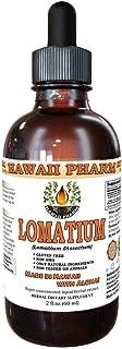Lomatium Liquid Extract, Lomatium (Lomatium Dissectum) Dried Root Powder Tincture Supplement 2 oz