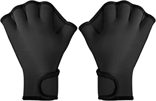 TAGVO Aquatic Gloves for Helping Upper Body Resistance, Webbed Swim Gloves Well Stitching, No Fading, Sizes for Men Women ...