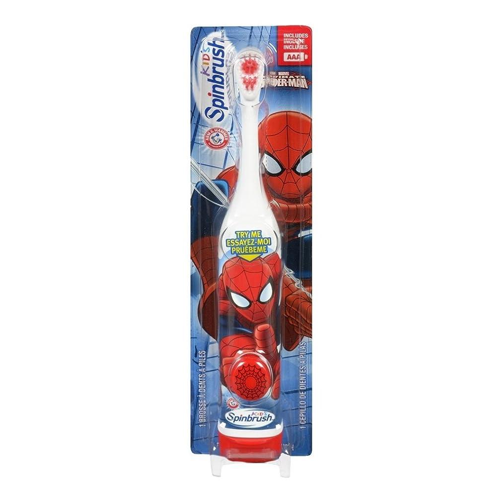 生活軽蔑する熱心ARM & HAMMER Kid's Spinbrush Spiderman 1 Each (Pack of 6) Designs May Vary 141[並行輸入]