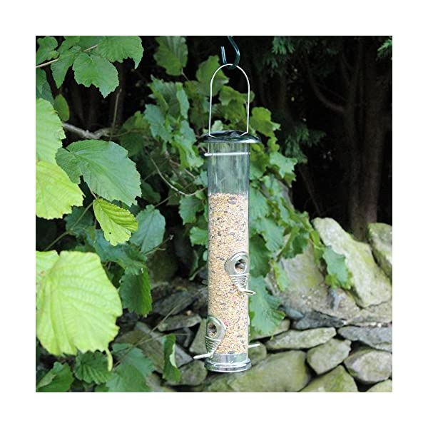 1 x Kingfisher / Natures Market BF021 Large Deluxe Seed Feeder