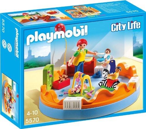Playmobil 5570 - Area Gioco Prima Infanzia, 4 Pezzi