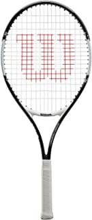 Wilson Roger Federer Raqueta, Unisex niños, Rojo (Red/Black), 25