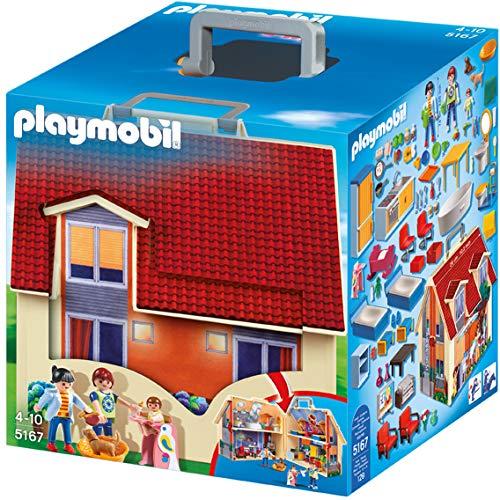 Playmobil Casa de muñecas maletín (5167)
