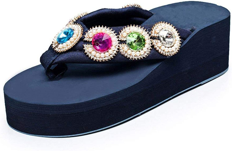 Sandals Summer Slippers Women Flip Flops Ms Flip Flop Sandals Height Increase Beach shoes Platform shoes Woman