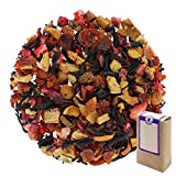 "N° 1193: Tè alla frutta in foglie ""Crema di Fragole"" - 1 kg - GAIWAN® GERMANY - tè in foglie, mela, rosa canina, ibisco, fragola, 1000 g"