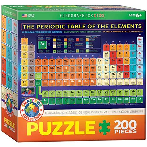 Eurographics Puzle de Mesa periódica de Elementos (200 Piezas)