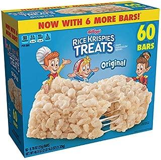 Kellogg's Rice Krispies New 60ct Treats Bars