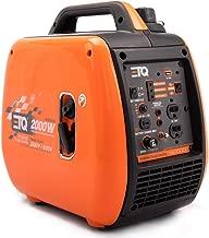 ETQ NI2000i Tough Quality 2000-Watt Portable Inverter Generator - Extremely Quiet - CARB Compliant