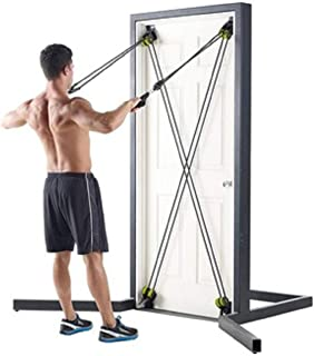 X-FACTOR BY WEIDER STRONGER BODY. FASTER RESULTS. THE TOTAL BODY TRAINING SYSTEM THAT ATTACEHES TO ANY DOOR.