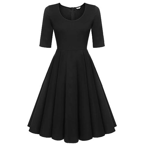 Tea Party Vintage Plus Size Dresses: Amazon.com